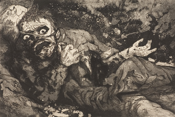 Wounded soldier - otto dix