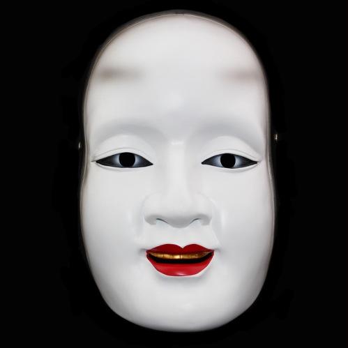 halloween-japanese-noh-font-b-drama-b-font-joke-font-b-white-b-font-face-woman