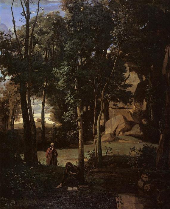 Jean-baptiste-camille-Corot-Democritus-and-the-Abderites